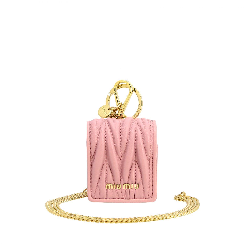 Case women Miu Miu pink 1