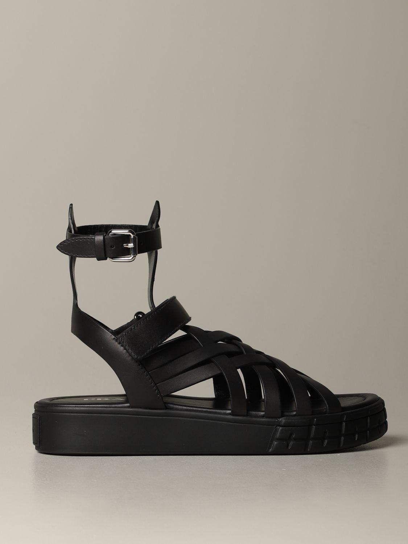 Flat Sandals Prada 1X958L 248 Giglio EN