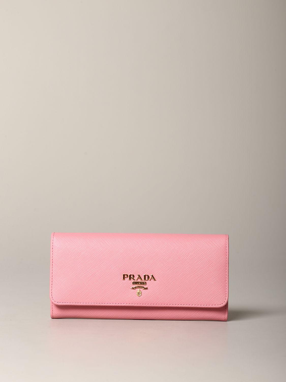 Wallet Prada: Wallet women Prada pink 1