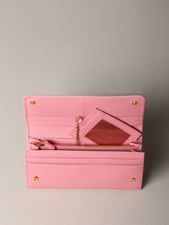 Wallet Prada: Wallet women Prada pink 2