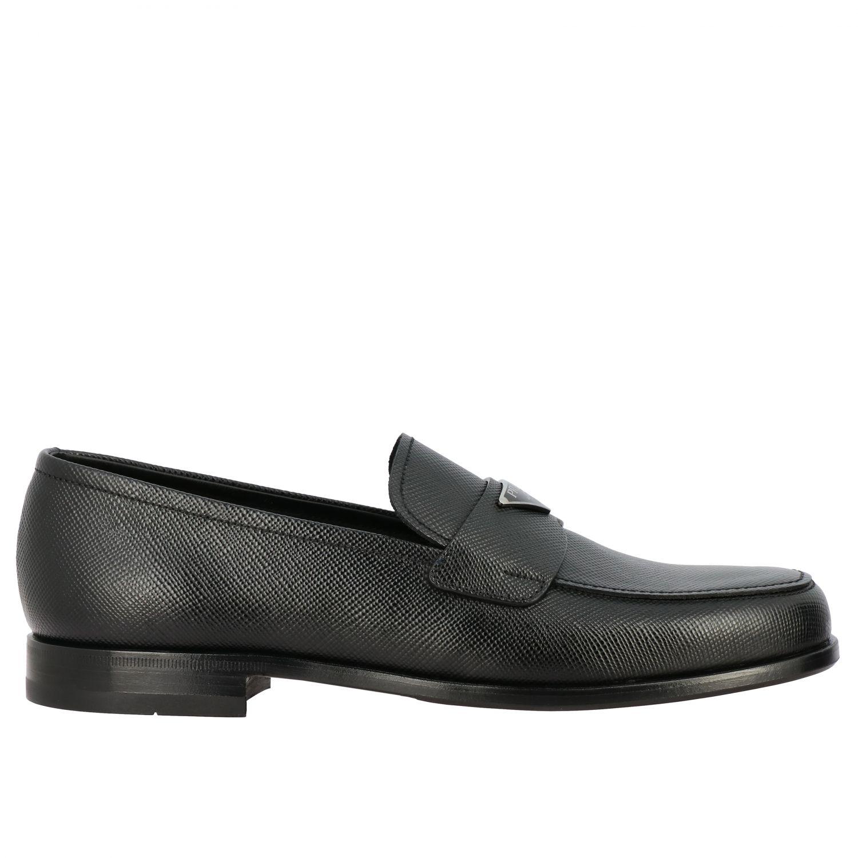 Shoes men Prada black 1