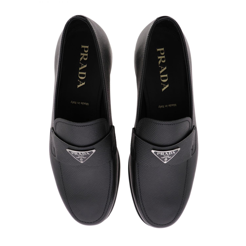 Shoes men Prada black 3
