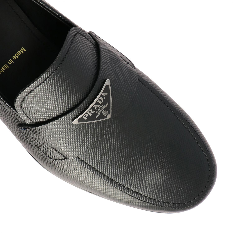 Shoes men Prada black 4