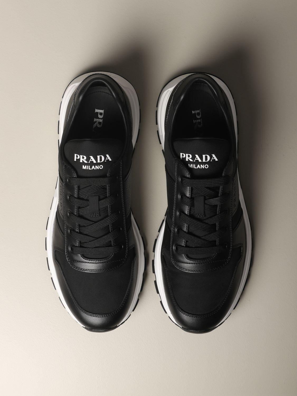 Prada Prax 01 sneakers in mesh and
