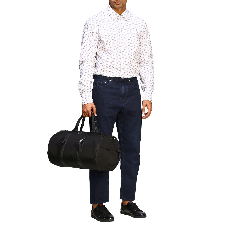 Travel bag Prada: Bags men Prada black 2