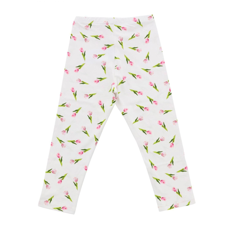 Pantalón niños Monnalisa blanco 2