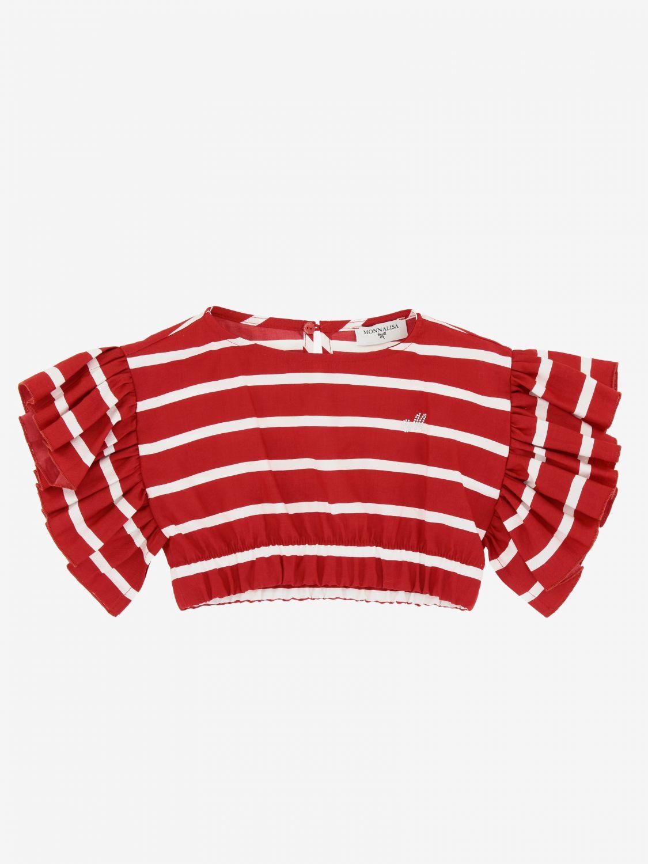 Блузка Monnalisa: Блузка Детское Monnalisa красный 1