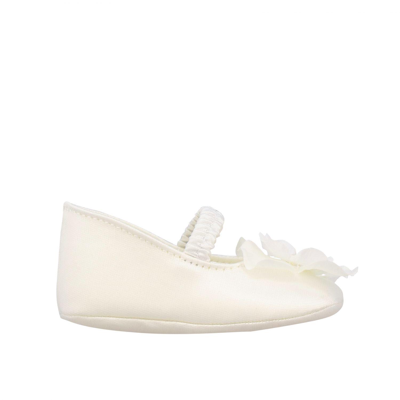鞋履 儿童 Monnalisa Chic Bebe' 奶油黄 1