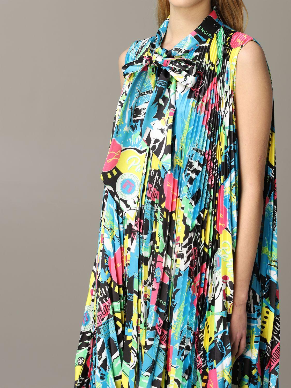 Dress Balenciaga: Dress women Balenciaga multicolor 4