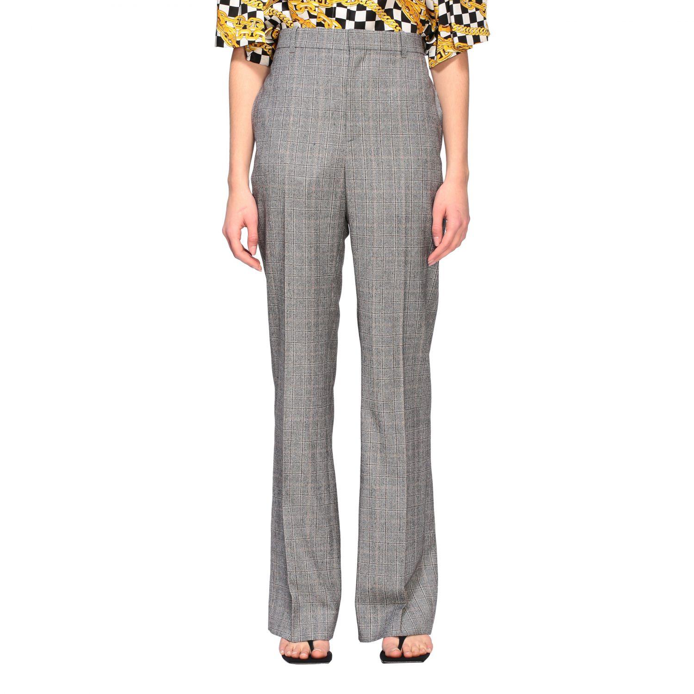 Anzug Balenciaga: Balenciaga Hose aus Wolle grau 1