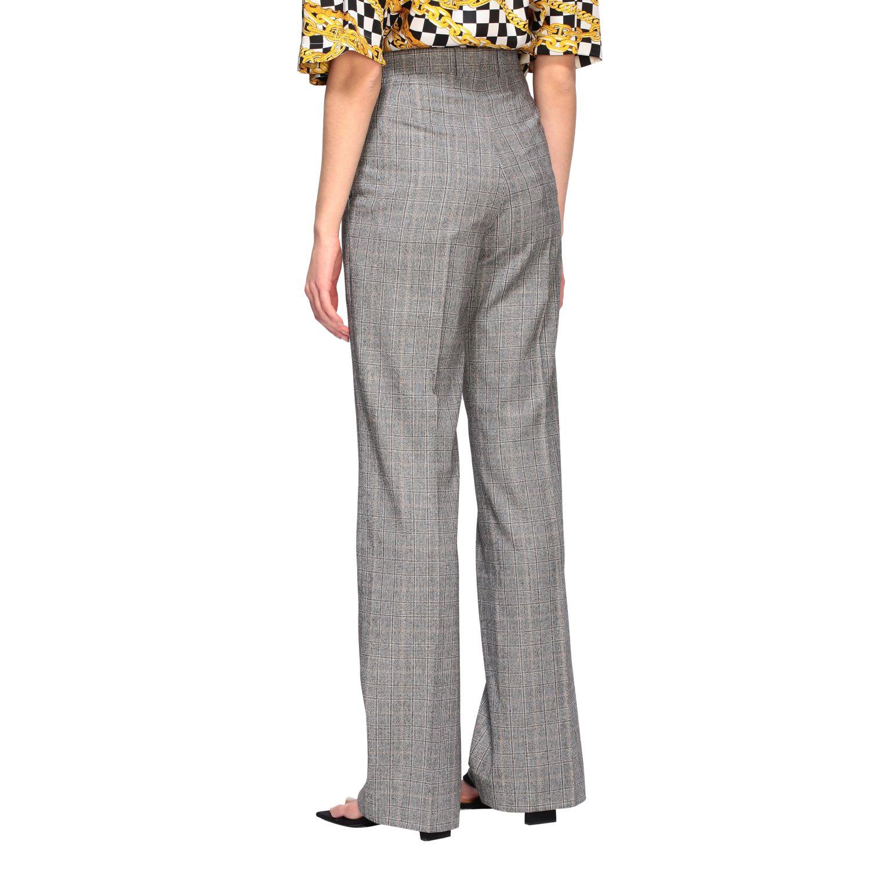 Anzug Balenciaga: Balenciaga Hose aus Wolle grau 3