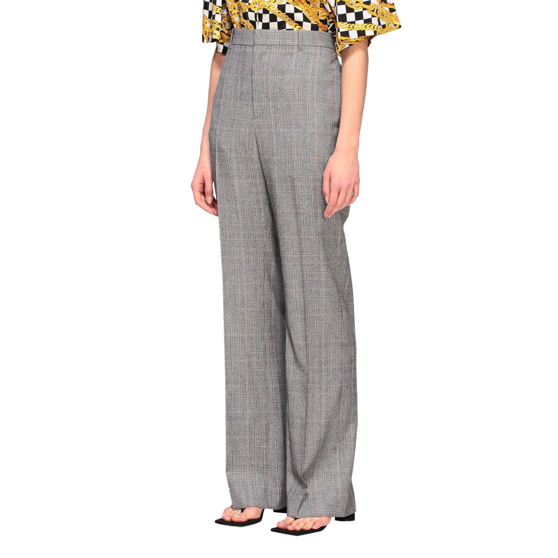 Anzug Balenciaga: Balenciaga Hose aus Wolle grau 4