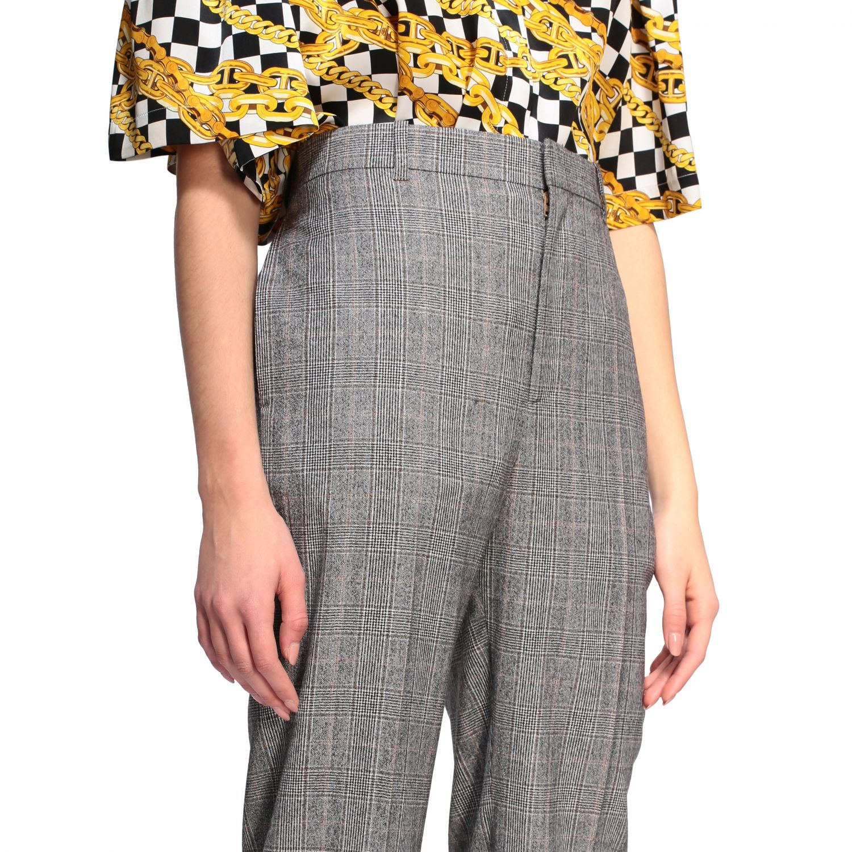Anzug Balenciaga: Balenciaga Hose aus Wolle grau 5