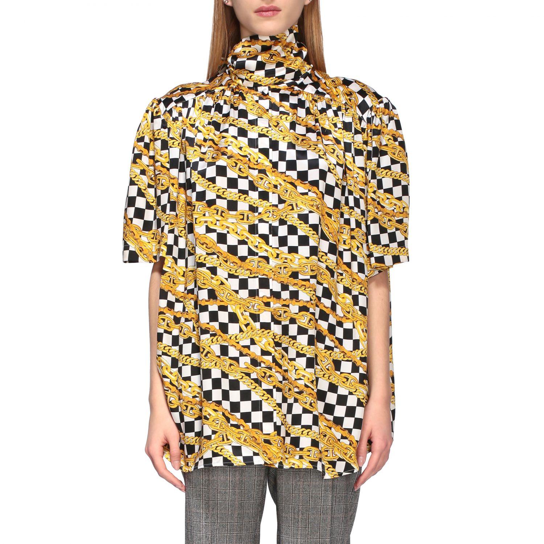 Shirt Balenciaga: Shirt women Balenciaga black 1