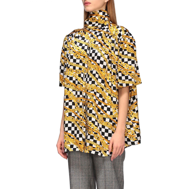 Shirt Balenciaga: Shirt women Balenciaga black 4