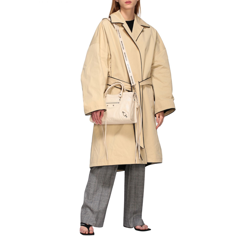 Coat Balenciaga: Coat women Balenciaga beige 2