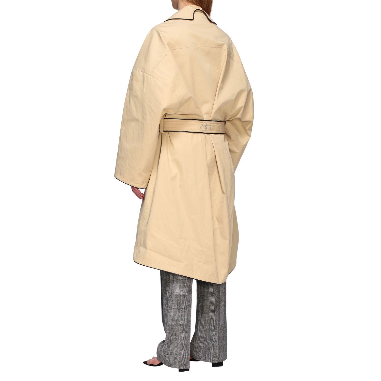 Coat Balenciaga: Coat women Balenciaga beige 3