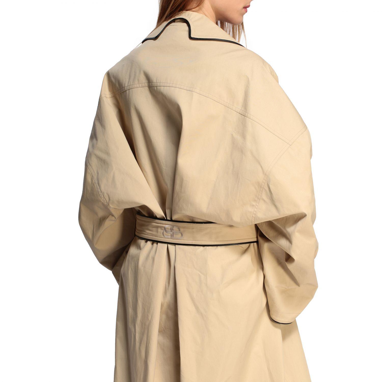 Coat Balenciaga: Coat women Balenciaga beige 5