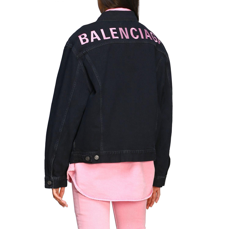 Jacket Balenciaga: Jacket women Balenciaga denim 3