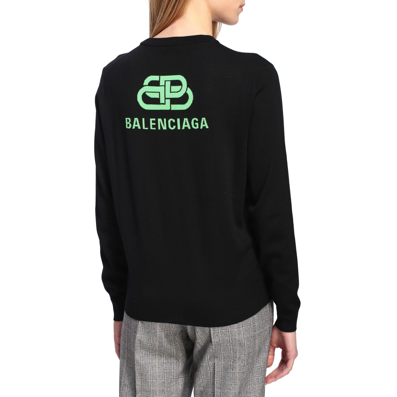 Свитер Женское Balenciaga черный 5