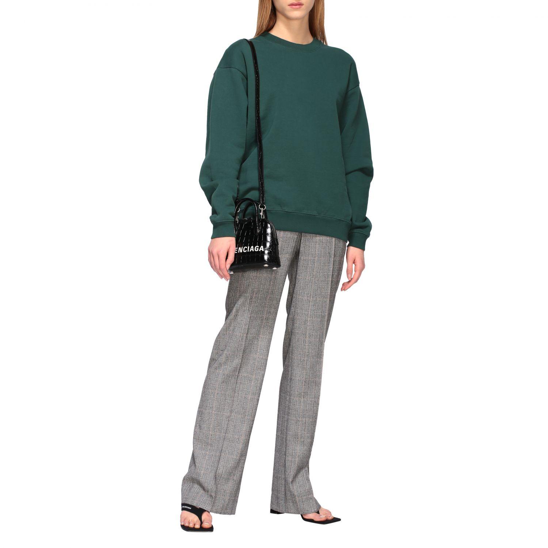 Sweatshirt Balenciaga: Sweatshirt women Balenciaga green 2