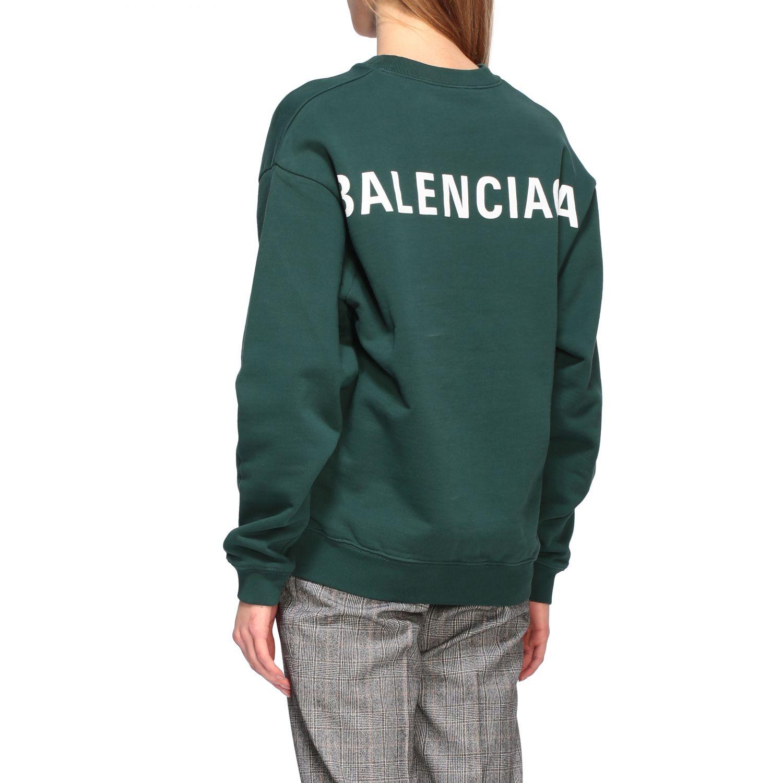 Sweatshirt Balenciaga: Sweatshirt women Balenciaga green 3