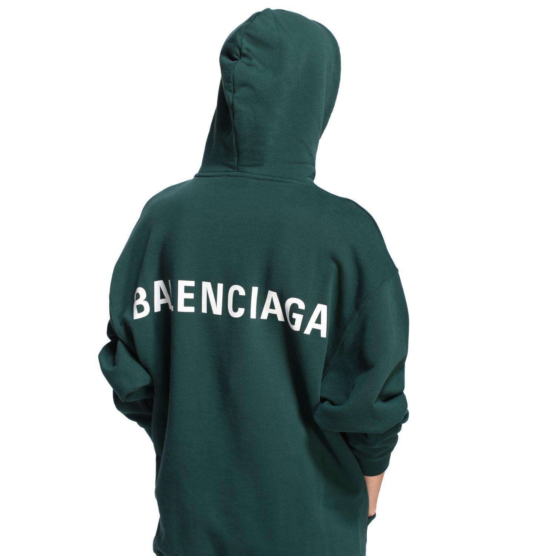 Sweatshirt Balenciaga: Sweatshirt women Balenciaga green 5