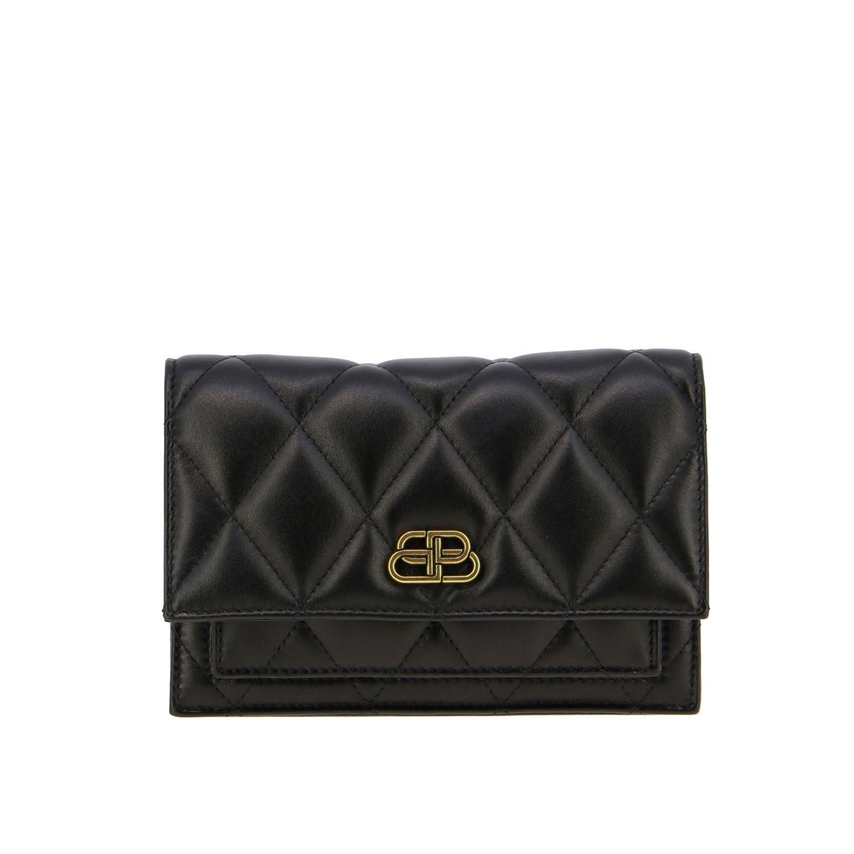 Balenciaga B Quilted 纳帕革绗缝手袋 黑色 1