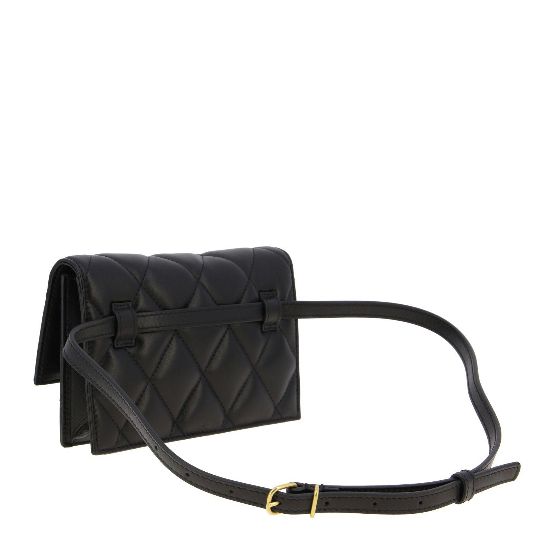 Balenciaga B Quilted 纳帕革绗缝手袋 黑色 3