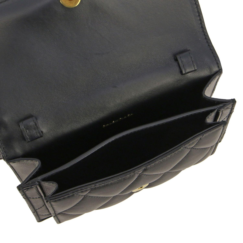 Balenciaga B Quilted 纳帕革绗缝手袋 黑色 6
