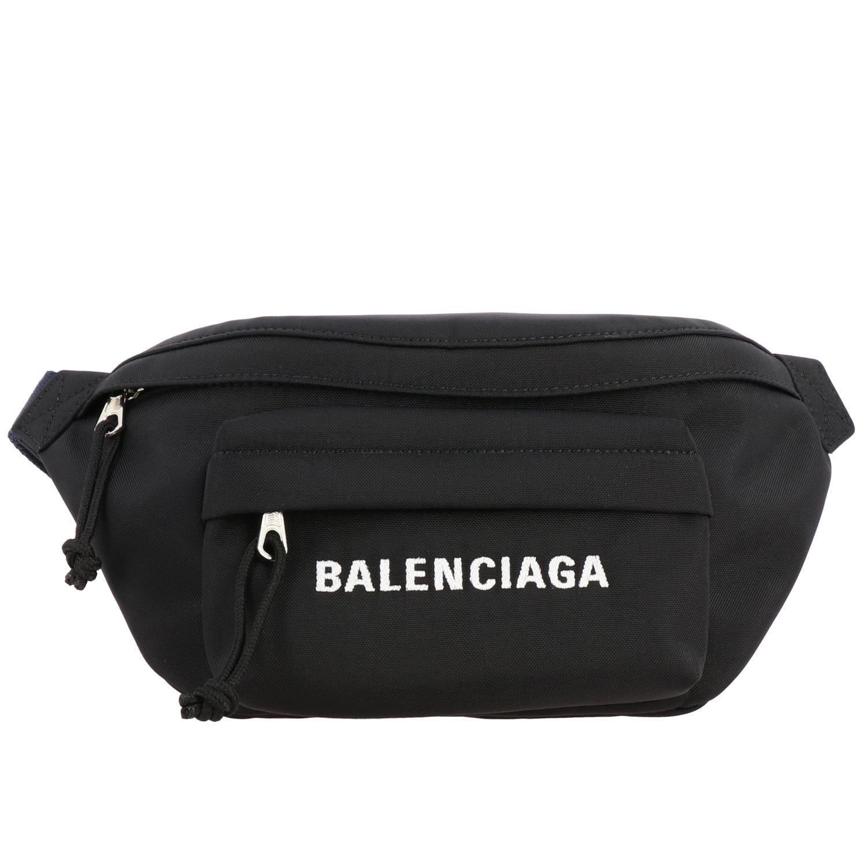 Belt bag Balenciaga: Shoulder bag women Balenciaga black 1