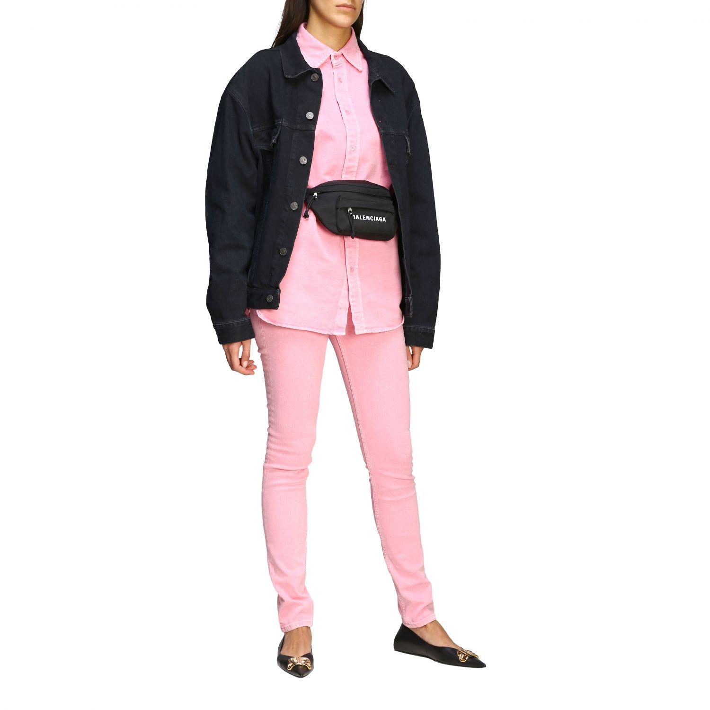 Belt bag Balenciaga: Shoulder bag women Balenciaga black 2