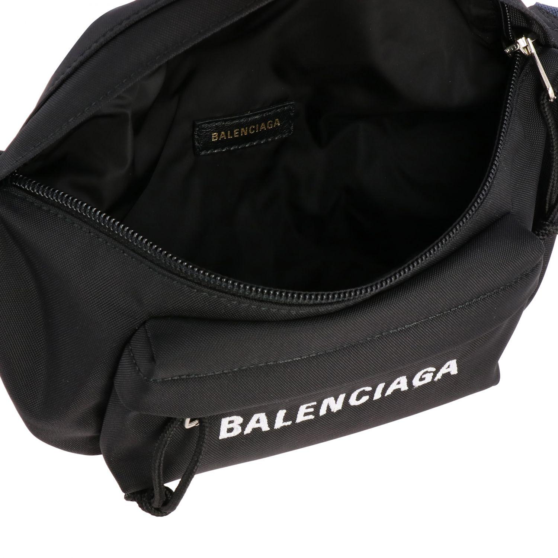Belt bag Balenciaga: Shoulder bag women Balenciaga black 5