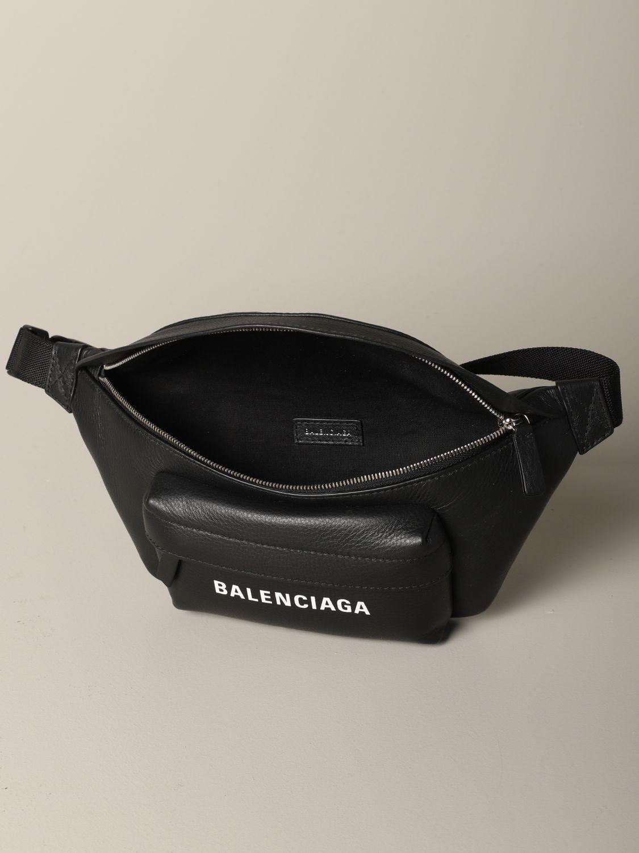 Belt bag Balenciaga: Shoulder bag women Balenciaga black 4