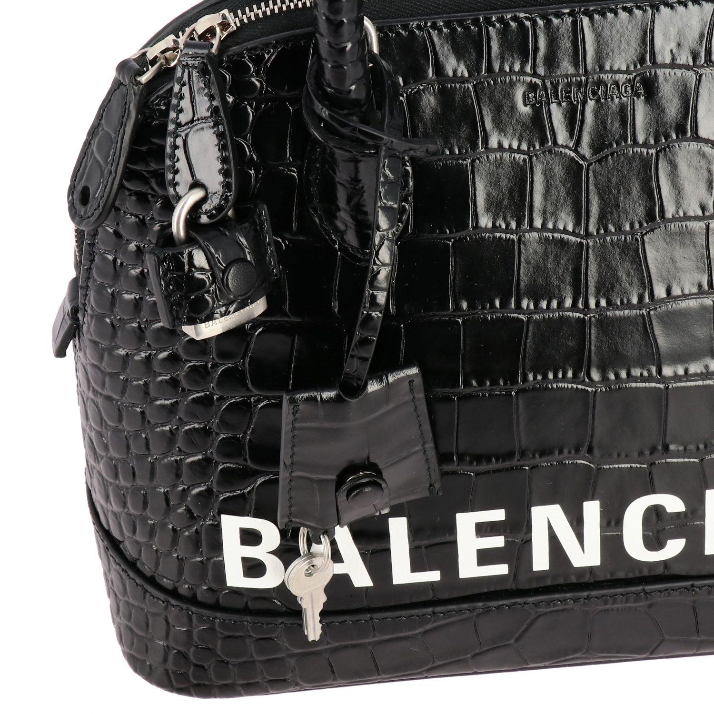 Handbag Balenciaga: Shoulder bag women Balenciaga black 4