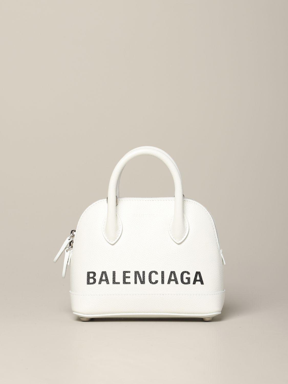 Mini bag Balenciaga: Shoulder bag women Balenciaga white 1