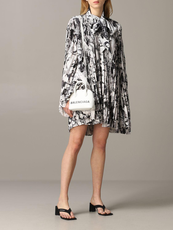 Mini bag Balenciaga: Shoulder bag women Balenciaga white 2