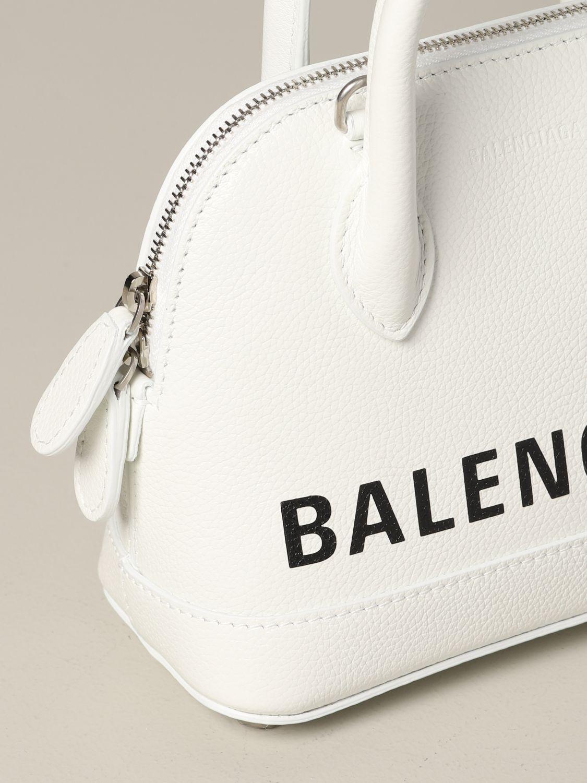 Mini bag Balenciaga: Shoulder bag women Balenciaga white 4