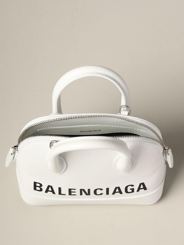 Mini bag Balenciaga: Shoulder bag women Balenciaga white 5
