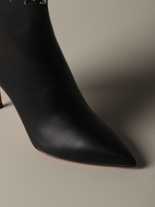 Heeled ankle boots Christian Louboutin: Shoes women Christian Louboutin black 3