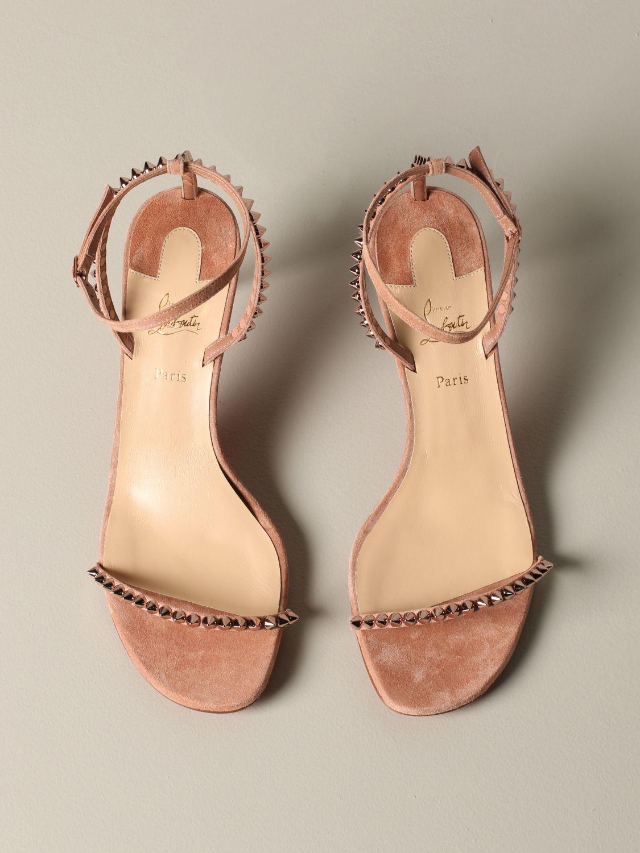Shoes women Christian Louboutin nude 3