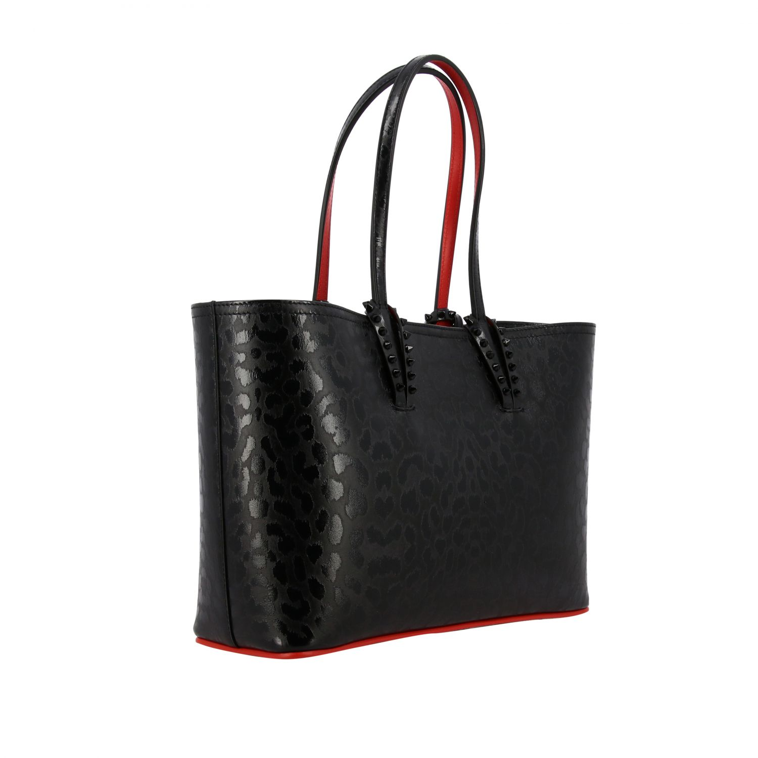 good selling details for official shop Tote Bags Christian Louboutin Women | Tote Bags Women Christian ...