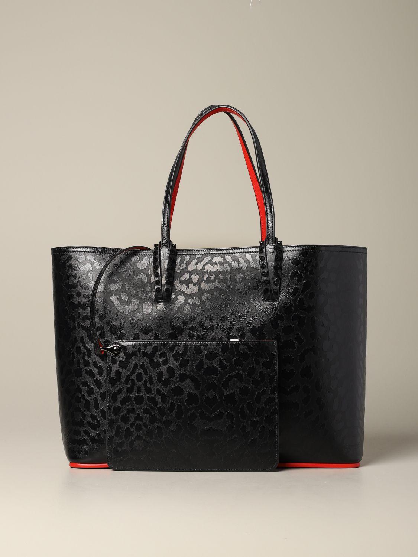 Shoulder bag women Christian Louboutin black 3