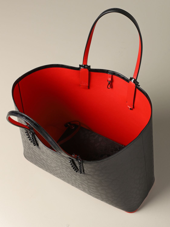 Shoulder bag women Christian Louboutin black 4