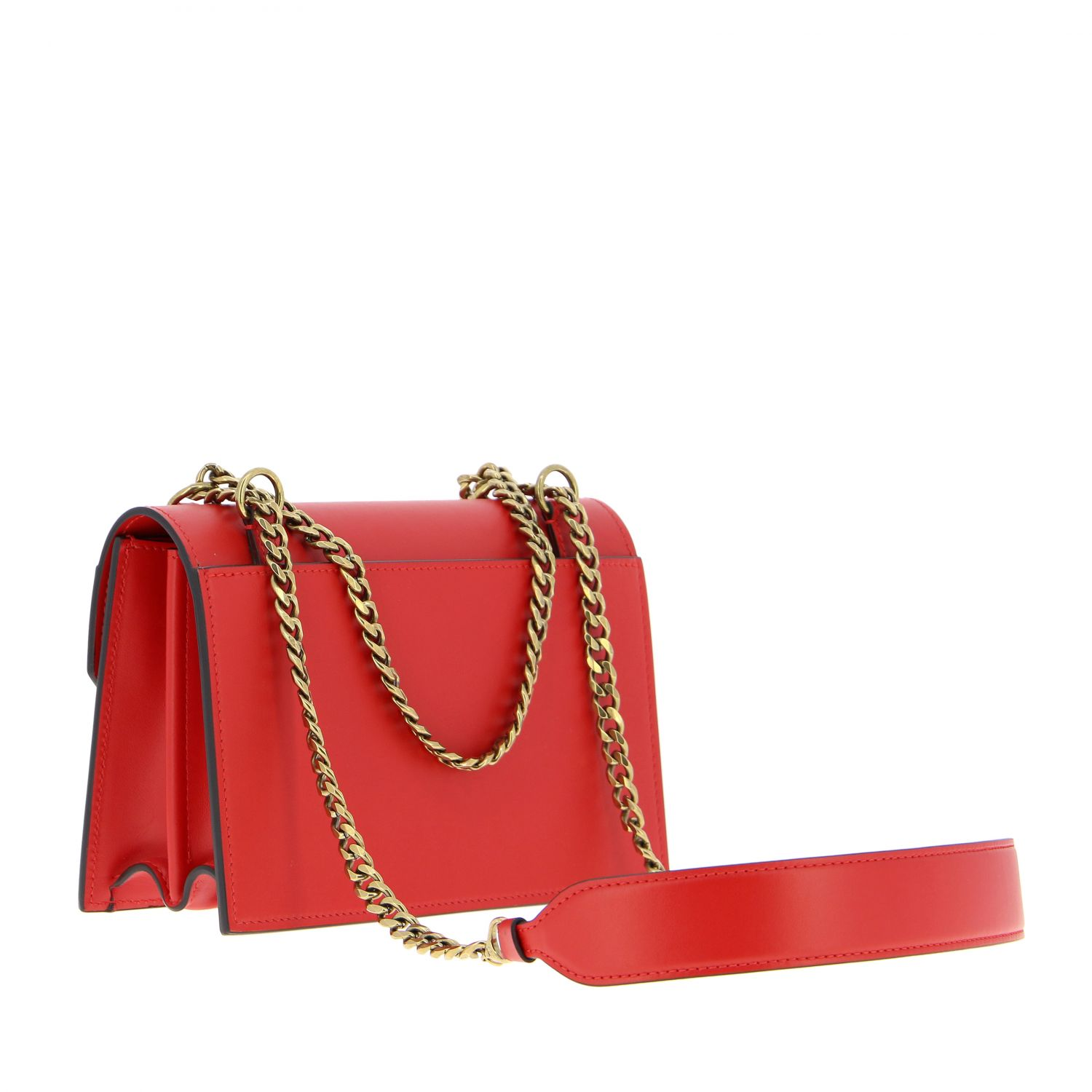 Elisa Christian Louboutin leather bag red 3