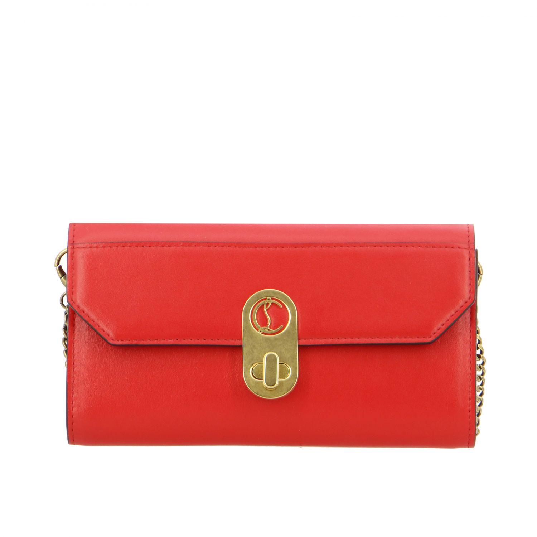 Mini bag Christian Louboutin: Mini bag women Christian Louboutin red 1