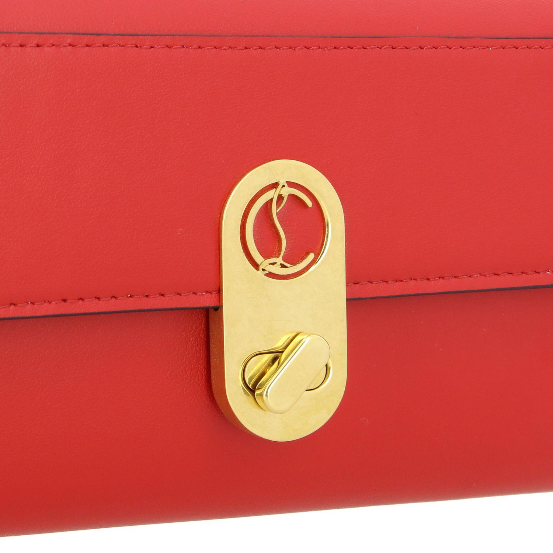 Mini bag Christian Louboutin: Mini bag women Christian Louboutin red 5