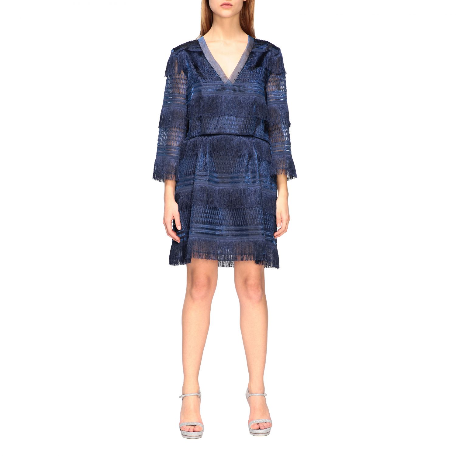 Dress Alberta Ferretti: Dress women Alberta Ferretti blue 1
