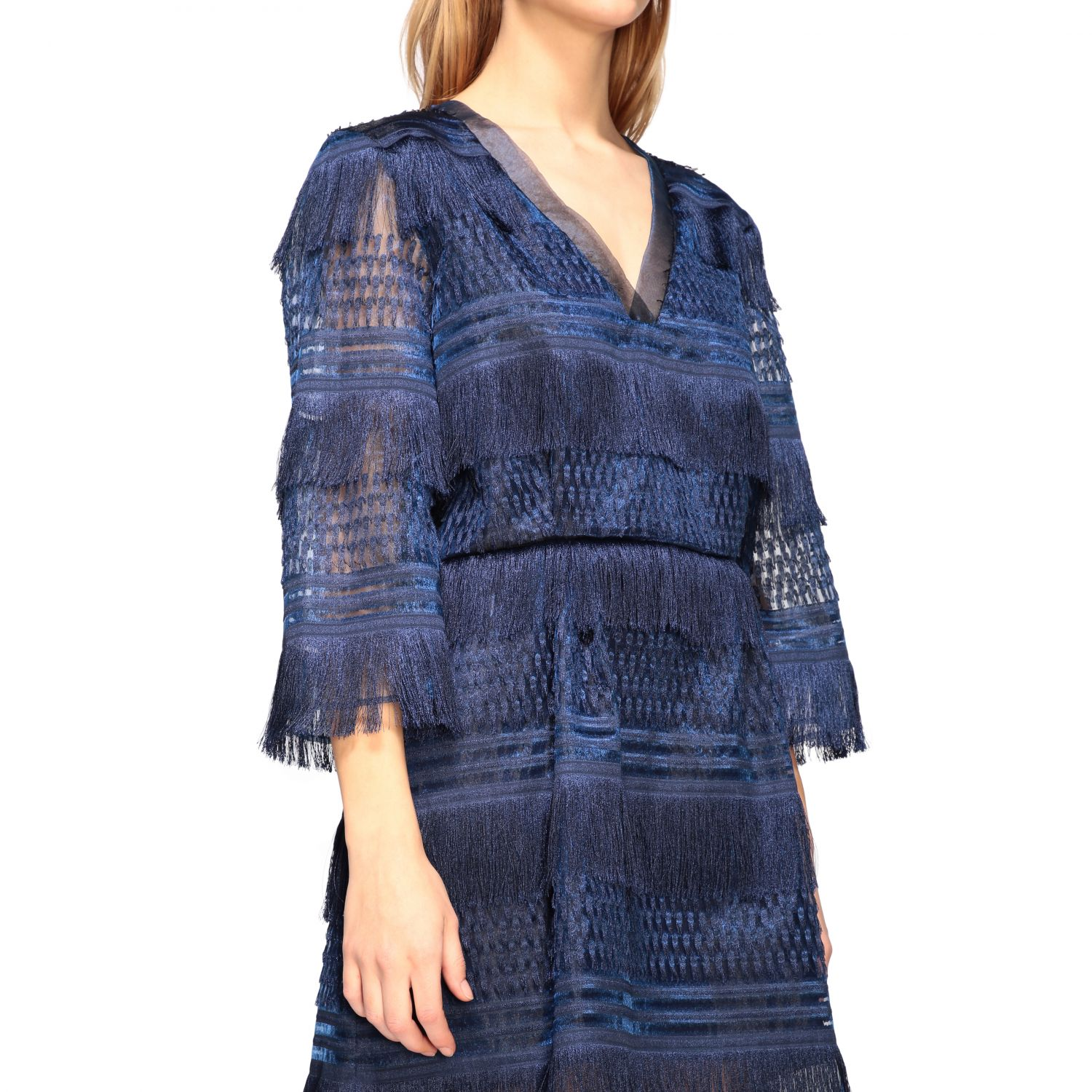 Dress Alberta Ferretti: Dress women Alberta Ferretti blue 4