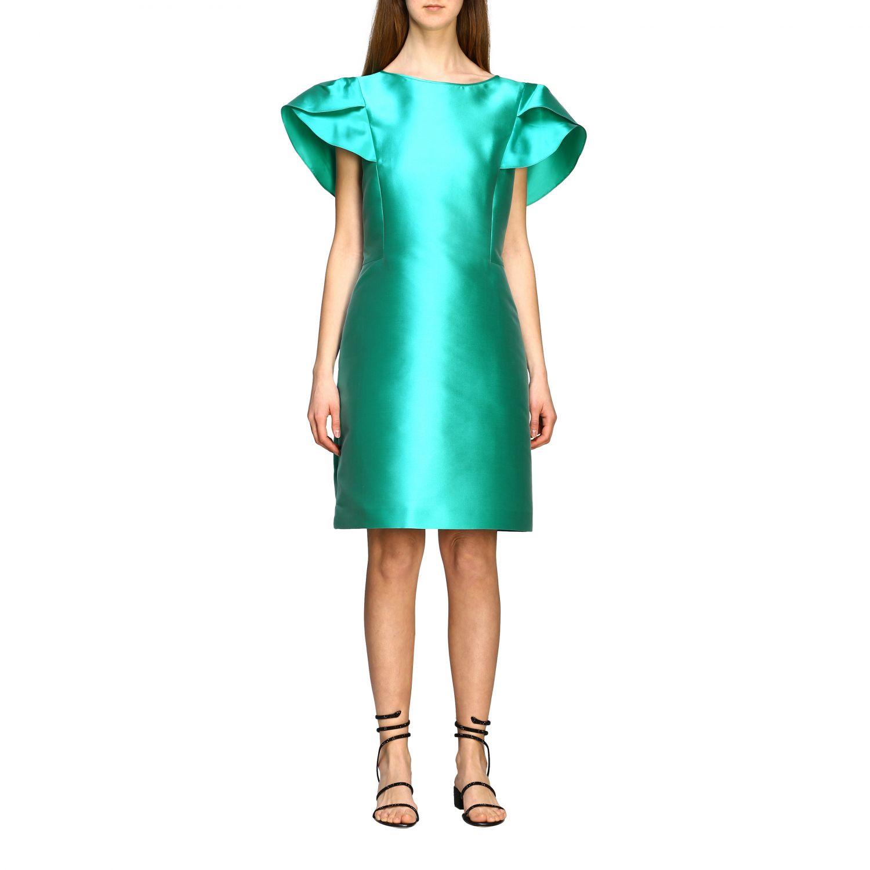 Robes Alberta Ferretti: Robe Alberta Ferretti à corolle eau 1